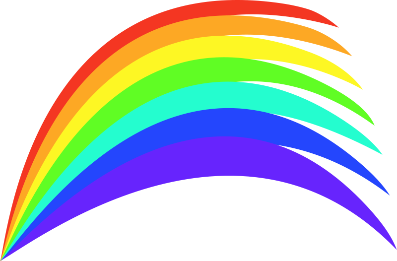 Clipart ratnbow clip library Free Clipart: Rainbow | mcol clip library