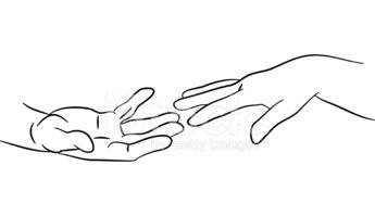 Clipart reaching hands png royalty free library Reaching Hands stock vectors - Clipart.me png royalty free library