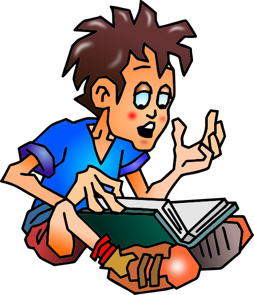 Clipart reader online vector Free Pictures Of Students Reading, Download Free Clip Art, Free Clip ... vector