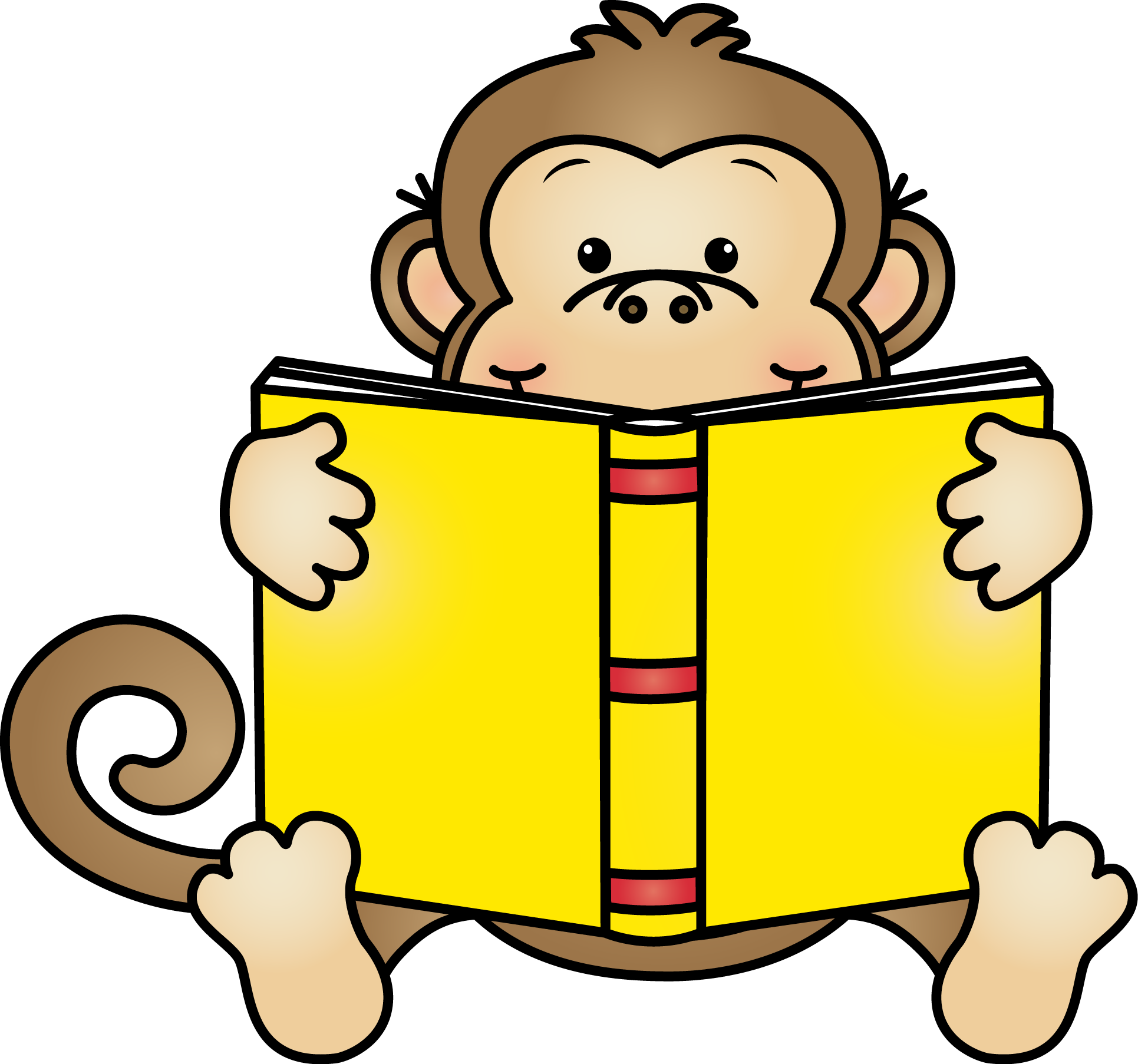 Monkey reading a book clipart clip art library library Cam Jansen Reading Book Teacher Clip art - book 1931*1806 transprent ... clip art library library