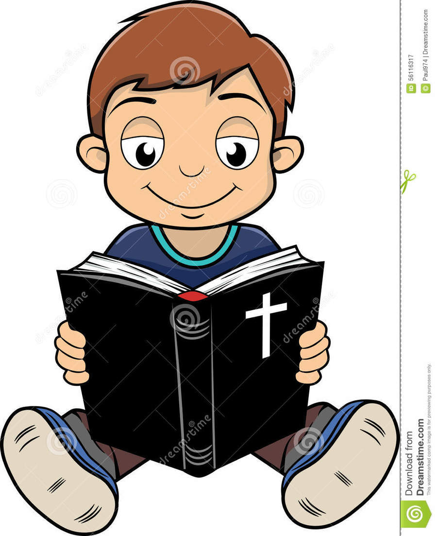 Clipart reading bible vector download Download boy reading bible clipart Bible Clip art vector download