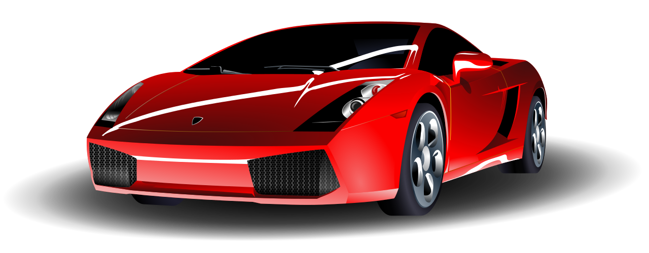Fancy car clipart clip art royalty free File:Red Lamborghini.svg - Wikimedia Commons clip art royalty free