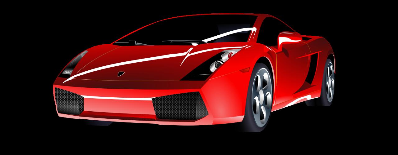 Red classic car clipart clipart black and white stock File:Red Lamborghini.svg - Wikimedia Commons clipart black and white stock