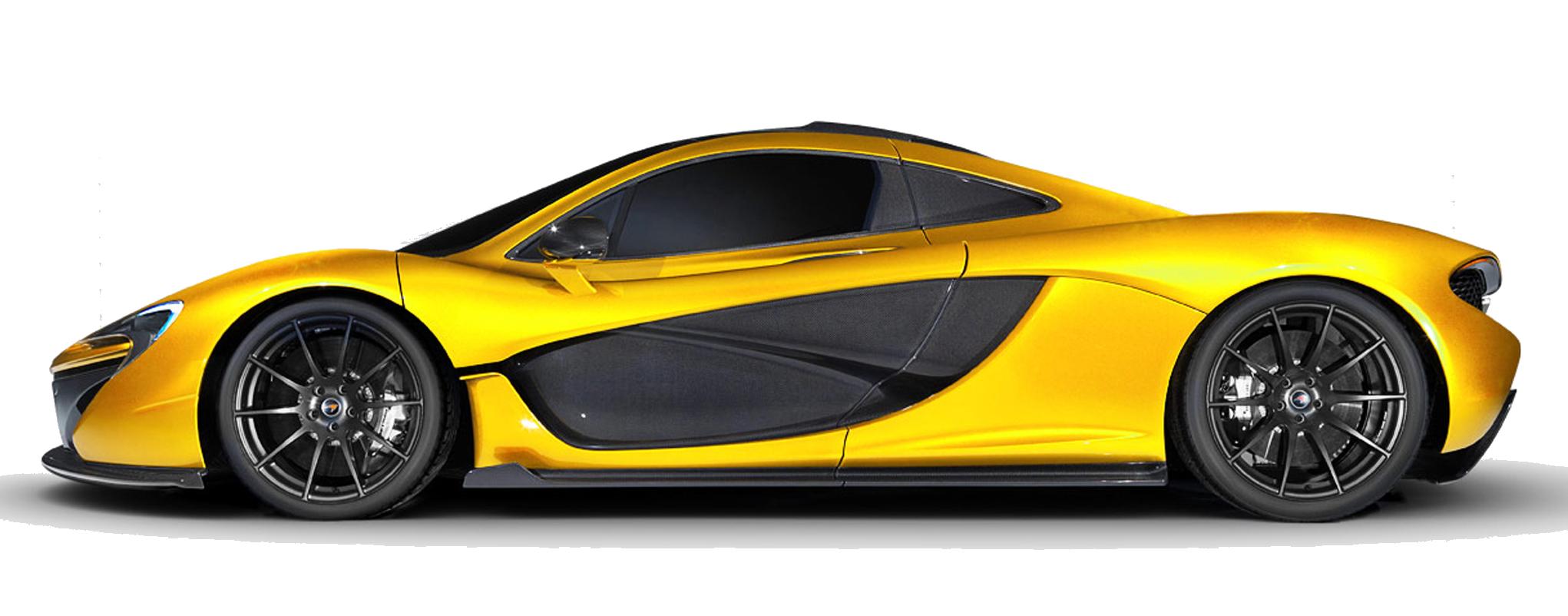 Real Racing 3 McLaren Automotive McLaren P1 - Mclaren P1 Png Clipart ... black and white download