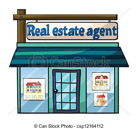 Clipart real estate agent png transparent Vector Clip Art of Real estate agent's office - Illustration of ... png transparent