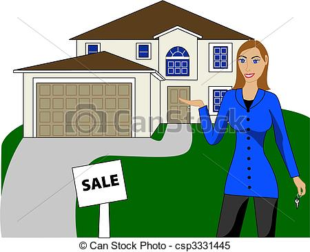 Clipart real estate agent clipart freeuse download Real estate house clipart - ClipartFest clipart freeuse download