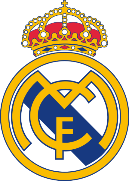 Clipart real madrid image black and white library Real Madrid Logo | Free Images at Clker.com - vector clip art ... image black and white library