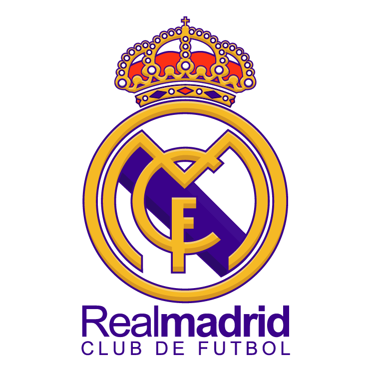 Clipart real madrid image black and white stock Clipart real madrid - ClipartFest image black and white stock