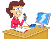 Clipart reception clipart Happy receptionist clipart - Clip Art Library clipart