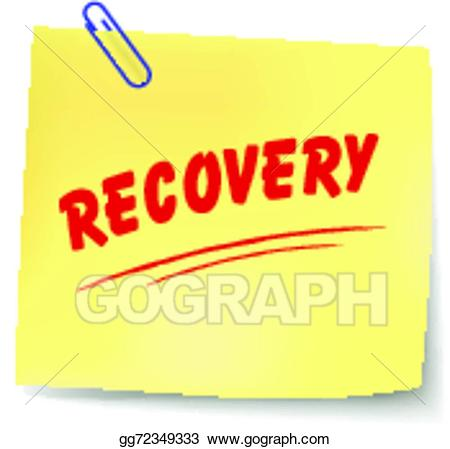 Clipart recovery png freeuse library Vector Clipart - Vector recovery message. Vector Illustration ... png freeuse library