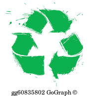 Recylcing clipart royalty free download Recycling Clip Art - Royalty Free - GoGraph royalty free download