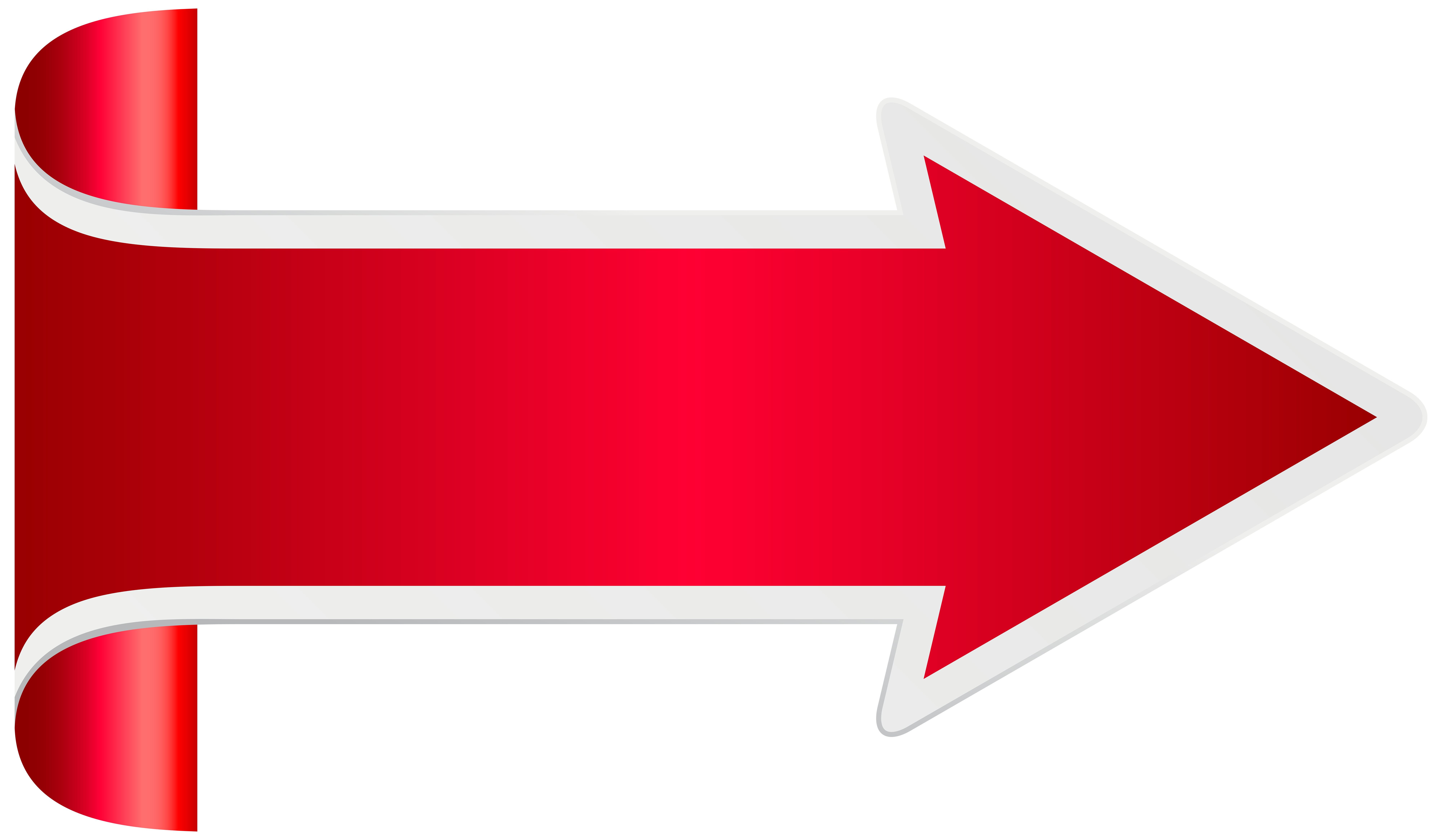 Clipart red arrow banner free stock Red Arrow PNG Clip Art Transparent Image   Gallery Yopriceville ... banner free stock