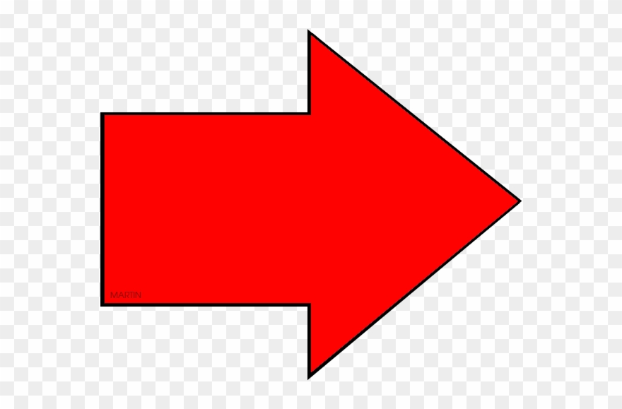 Clipart red arrow free library Red Arrow - Right Red Arrow Clipart (#3341227) - PinClipart free library