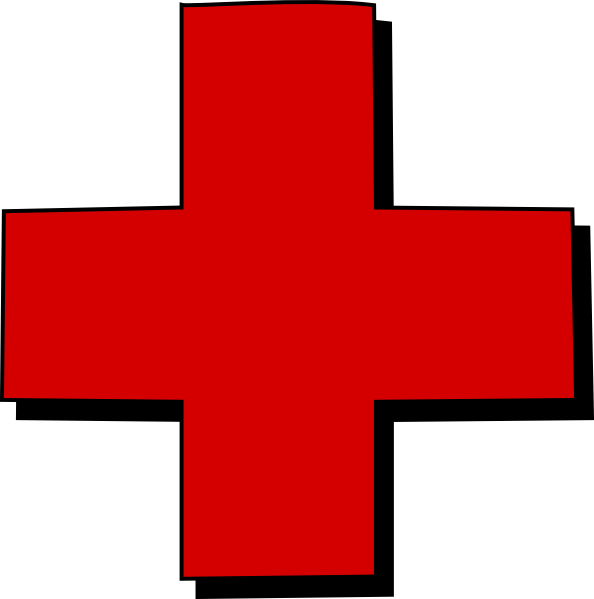 Shield with cross clipart jpg free stock Red Cross Clip Art at Clker.com - vector clip art online, royalty ... jpg free stock
