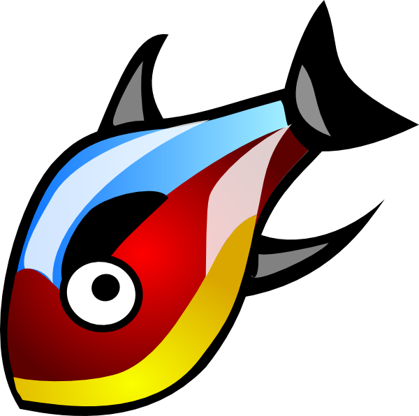 Marlin fish clipart