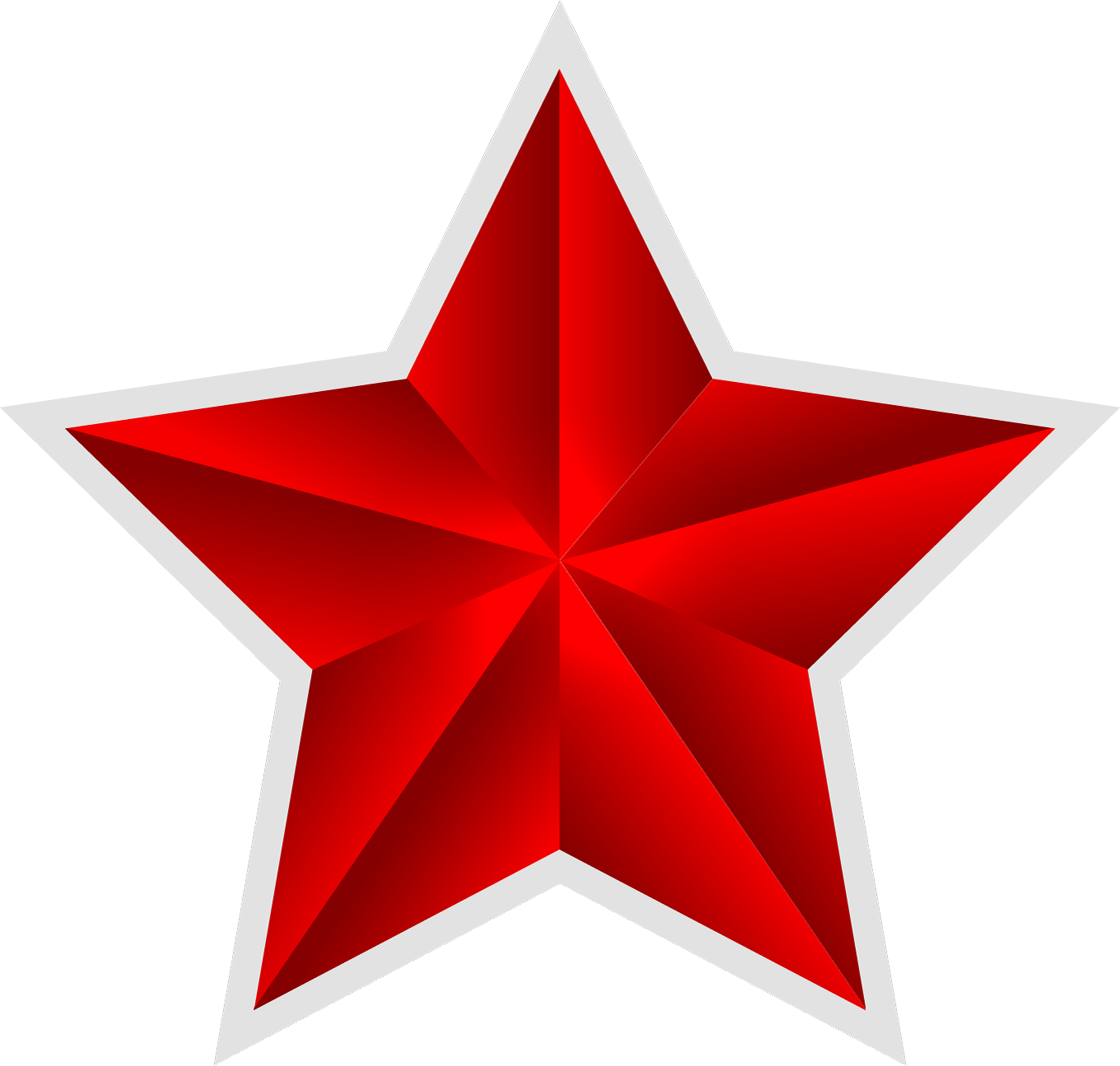 Clipart red star picture transparent Red star PNG picture transparent