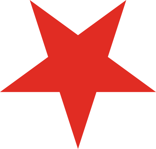 Clipart red star png black and white download Red star PNG images free download png black and white download