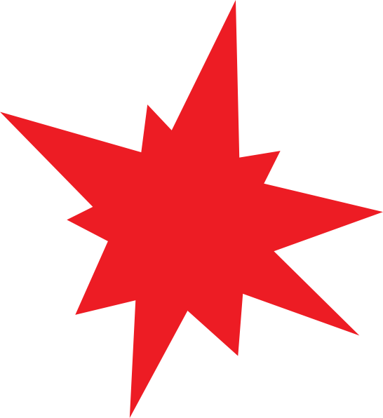 Free clipart grunge red star picture black and white library Red Star Clip Art | Clipart Panda - Free Clipart Images picture black and white library