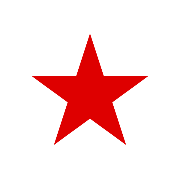 Clipart red star graphic download Red star PNG images free download graphic download