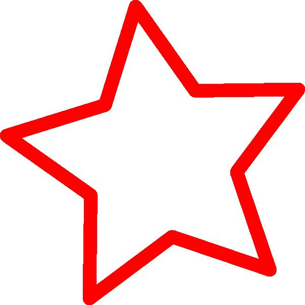 Star line clipart clipart black and white Star Clip Art at Clker.com - vector clip art online, royalty free ... clipart black and white