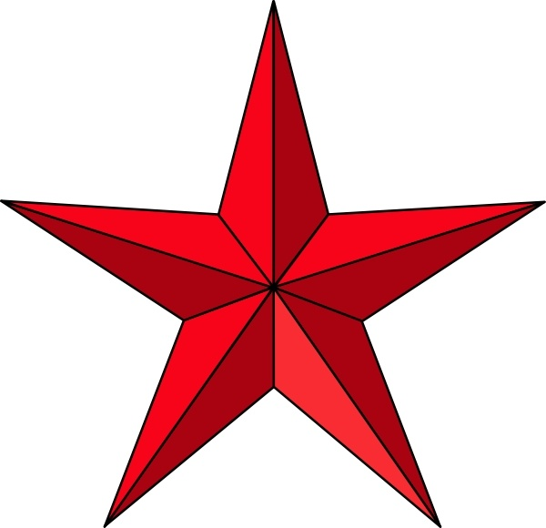 Clipart red star new clipart library stock Red Star clip art Free vector in Open office drawing svg ( .svg ... clipart library stock