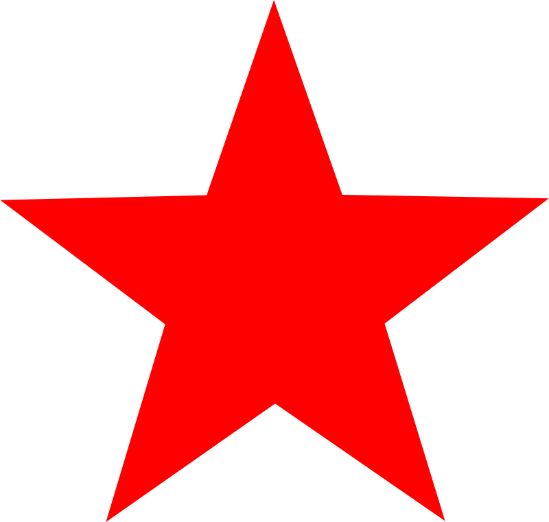 Clipart red star new jpg black and white library Free Clipart: Red star   worker jpg black and white library