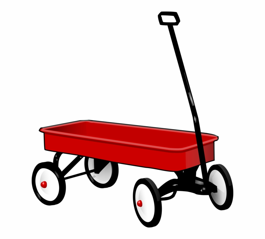 Clipart red wagon clipart library library Covered Wagon Cart Radio Flyer Horse And Buggy - Red Wagon Clipart ... clipart library library