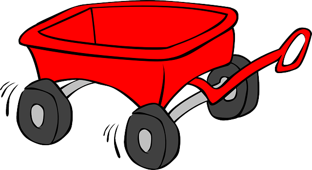 Clipart red wagon picture transparent wagon, cart, trolley, kid, toy, red | Clipart idea | Kids wagon, Red ... picture transparent