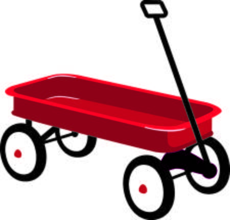 Clipart red wagon jpg library Red wagon clipart 4 » Clipart Station jpg library