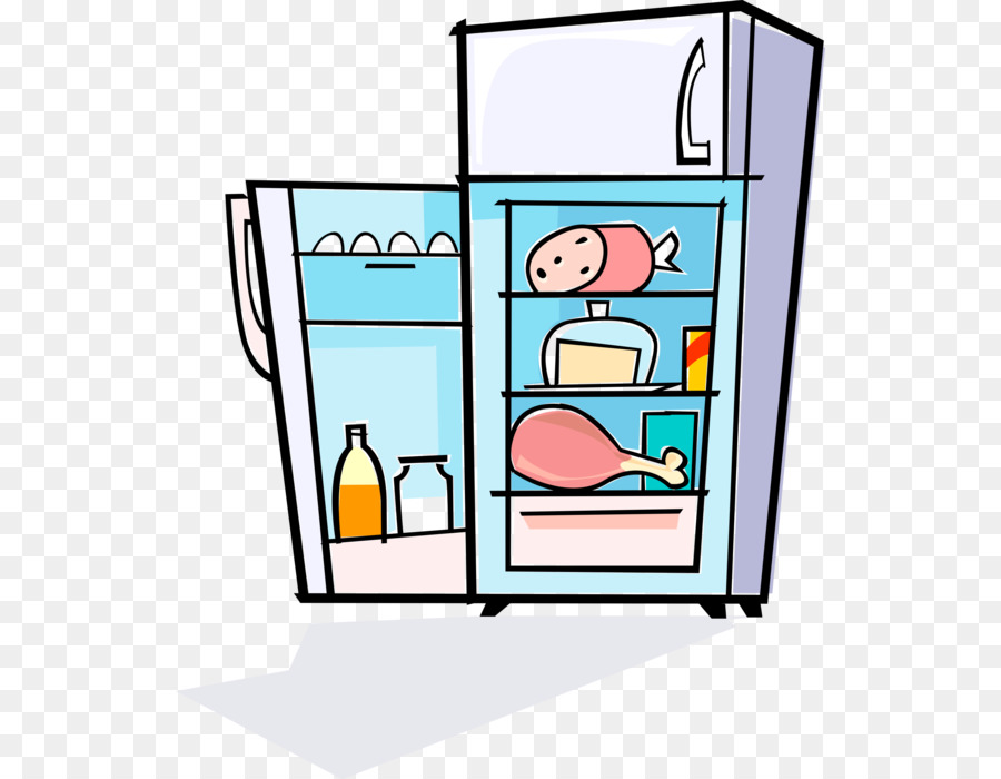 Refrigerator clipart images image library Kitchen Cartoon clipart - Refrigerator, Kitchen, transparent clip art image library