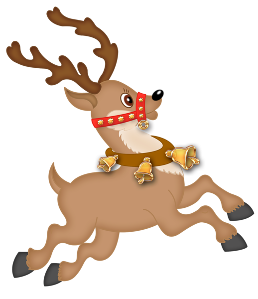Clipart reindeer christmas clip transparent stock Cute Reindeer PNG Clipart | Gallery Yopriceville - High-Quality ... clip transparent stock