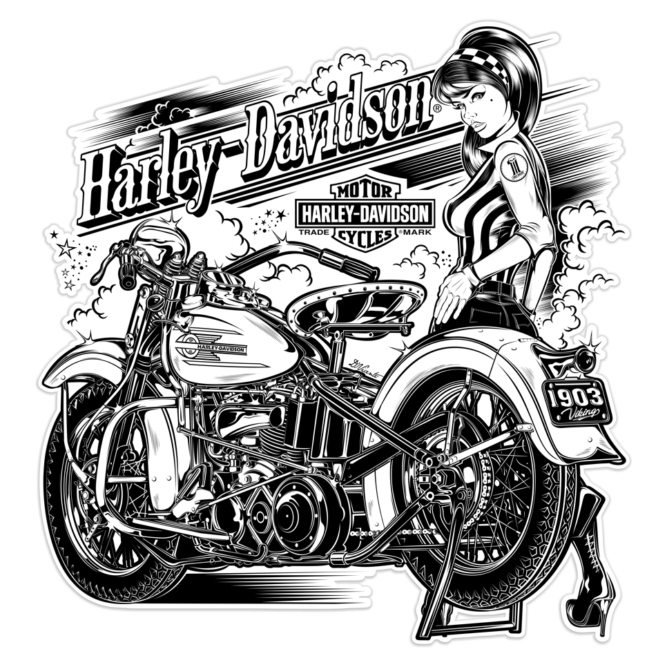 Clipart related to harley-davidson motorcycles at any level graphic free stock dvicente-art.com : Photo | Roly\'s Motorcycles | Harley davidson ... graphic free stock