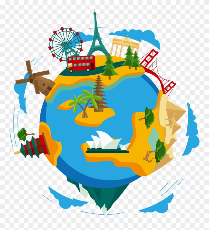 Clipart related to travel in rthe 1800 banner freeuse download Travel Around The World Png Clipart (#265026) - PinClipart banner freeuse download