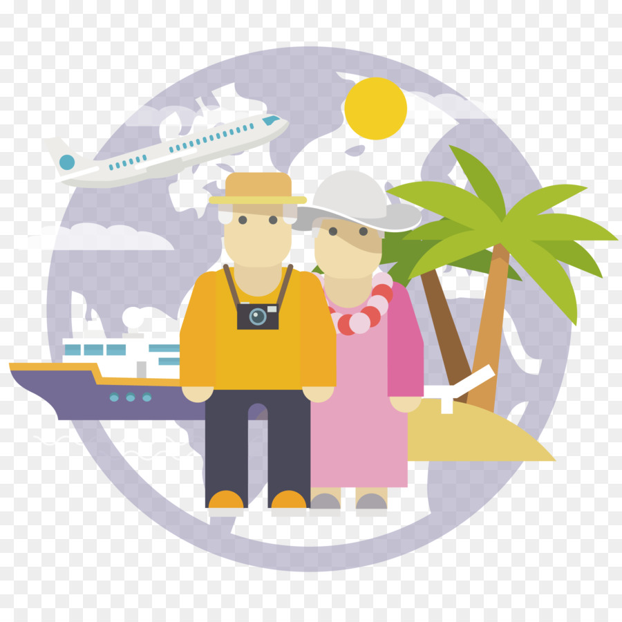 Clipart related to travel in rthe 1800 clipart royalty free stock Travel Couple png download - 1800*1800 - Free Transparent Airplane ... clipart royalty free stock