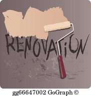 Remodel clipart library Renovation Clip Art - Royalty Free - GoGraph library