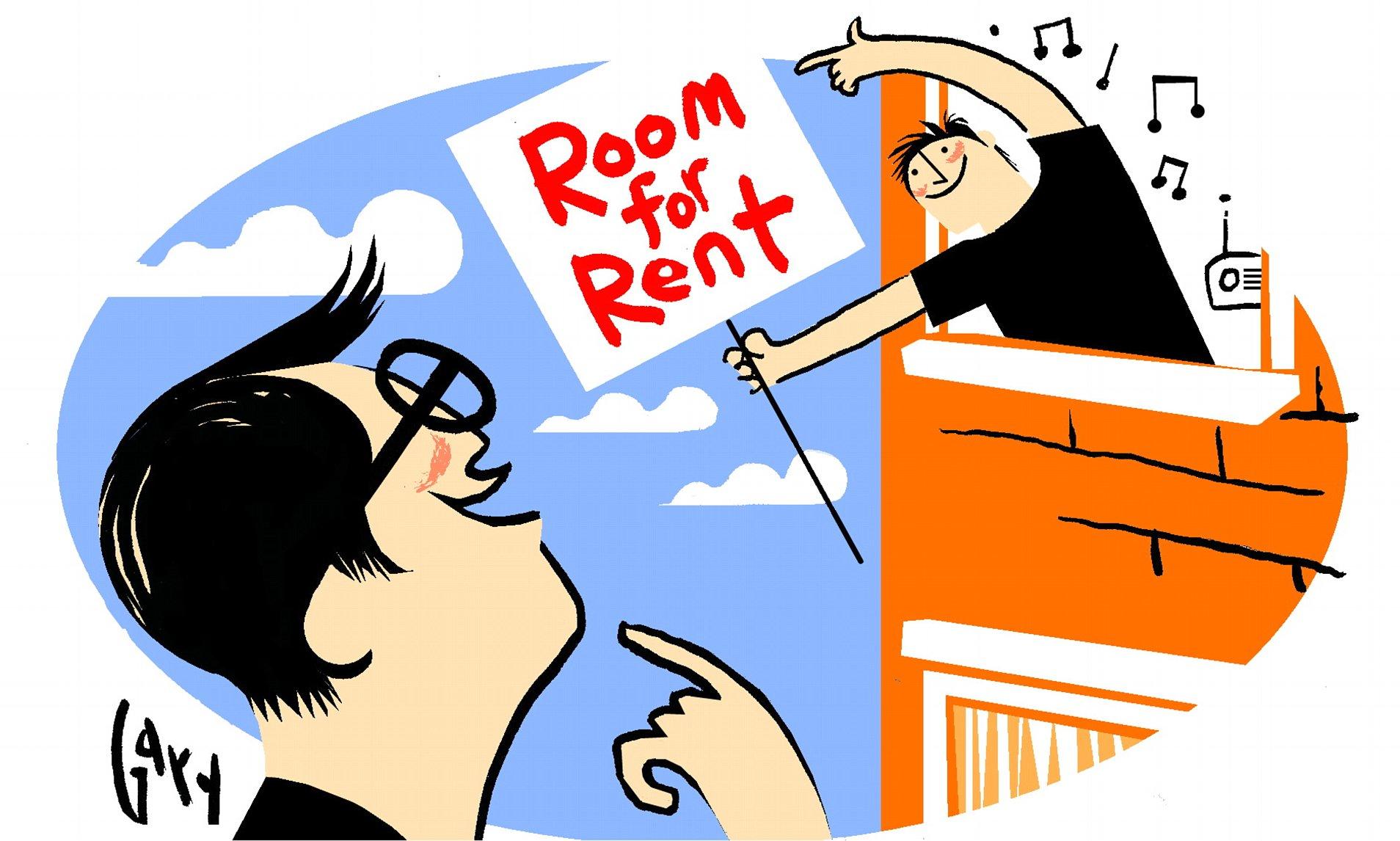 Clipart rental rooms