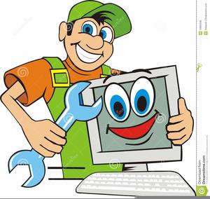 Clipart repair jpg free stock Computer Repair Man Clipart | Free Images at Clker.com - vector clip ... jpg free stock