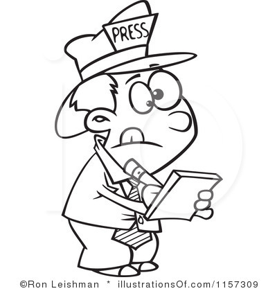 Clipart reporter clip art royalty free library Reporter Clipart | Clipart Panda - Free Clipart Images clip art royalty free library