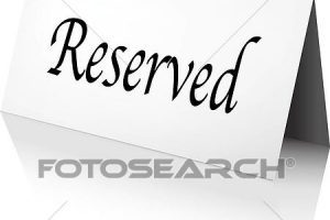 Clipart reserved sign png free library Reveil clipart 2 » Clipart Portal png free library