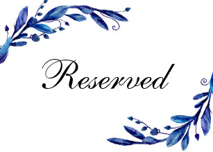 Clipart reserved sign vector stock Reserved Wedding Signs   Zazzle vector stock