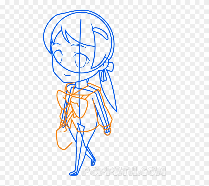 Clipart resolution 900 736 drawings clipart drawing clip art library stock How To Draw A Chibi School Girl Pop Path - Drawing Clipart (#1712355 ... clip art library stock