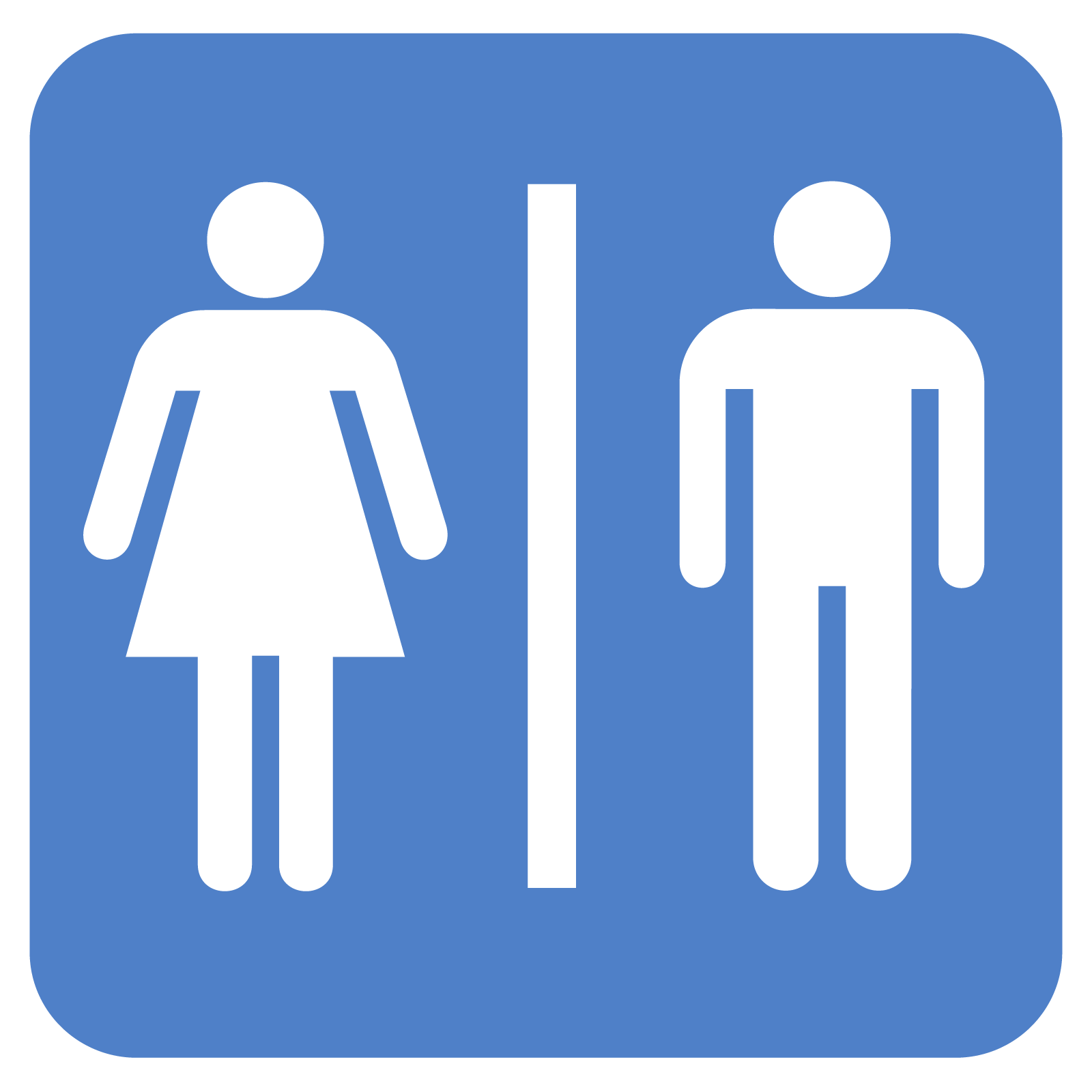 Clipart restroom sign with arrow png royalty free library Clipart restroom - ClipartFest png royalty free library