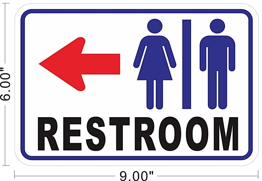 Clipart restroom sign with arrow image royalty free download Clipart restroom sign with arrow - ClipartFest image royalty free download