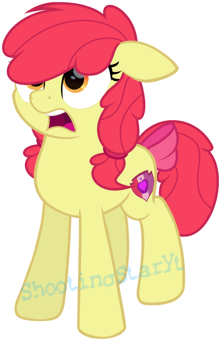 Clipart reverse white apple freeuse library MLP Apple Bloom (New) [Next Gen] by ShootingStarYT | MLP | Pinterest ... freeuse library