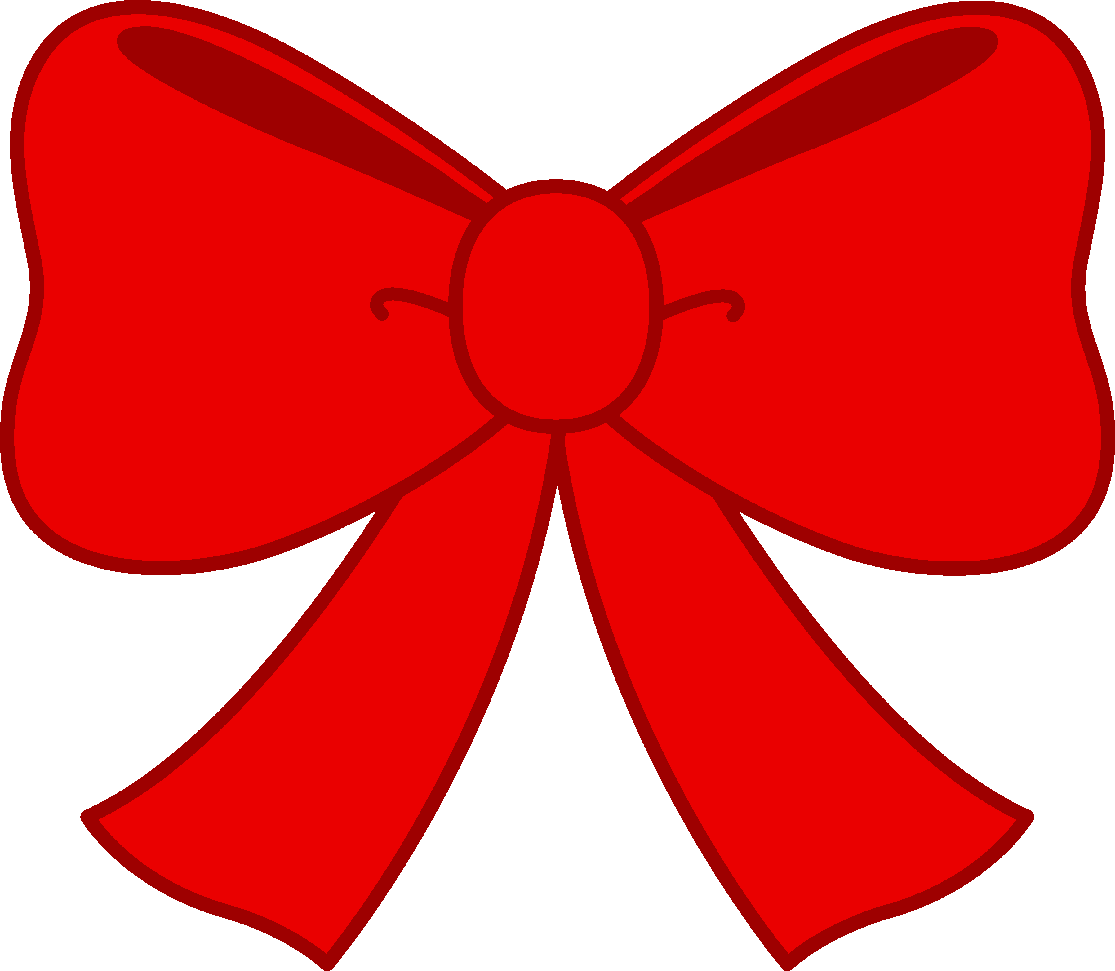 Red christmas bow clipart svg library Christmas Ribbon Clip Art & Christmas Ribbon Clip Art Clip Art ... svg library