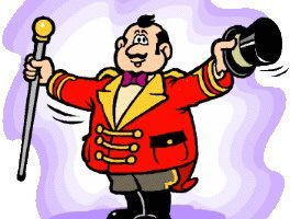 Clipart ringleader banner free stock Circus ringleader clipart » Clipart Portal banner free stock