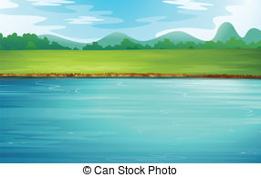 Illustrations and clip art. Clipart river