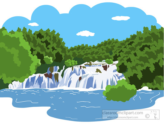 Mountain kid clip art. Clipart river