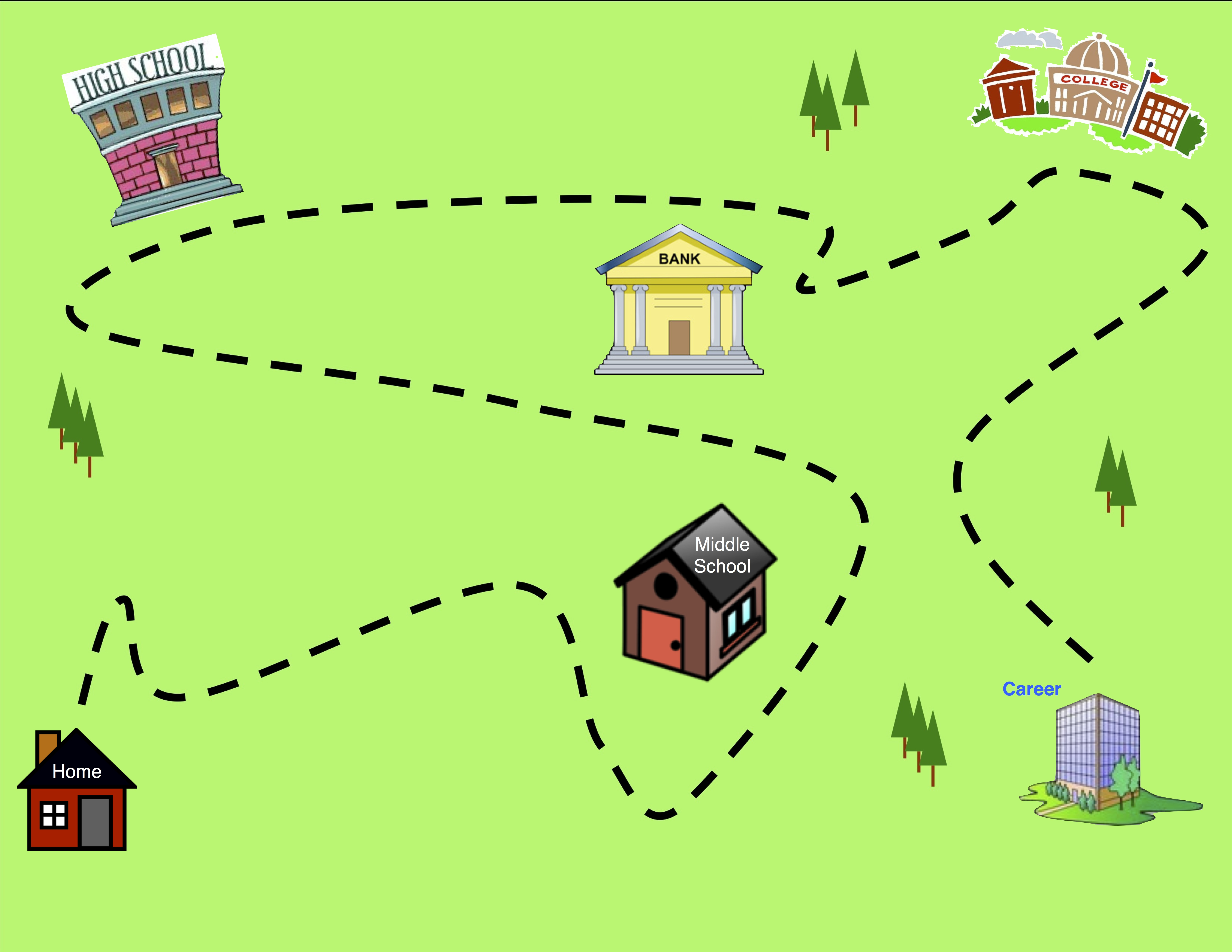 Clipart road map clip royalty free Road map images clip art - ClipartFest clip royalty free