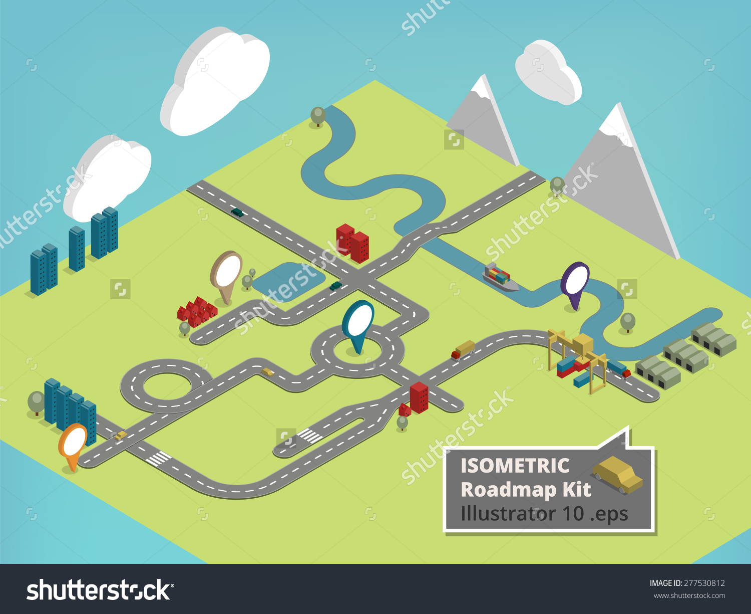 Clipart road map jpg black and white Simple road map clipart - ClipartFest jpg black and white